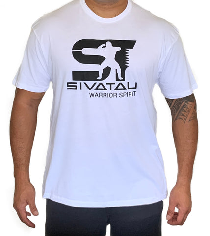 White/Black Sivatau T-Shirt