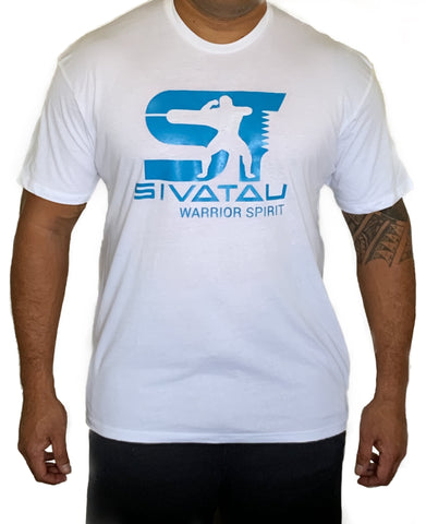 White/Blue Sivatau T-Shirt