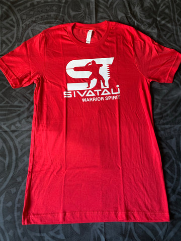 Red Sivatau with white logo