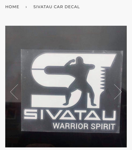Sivatau Car Decal