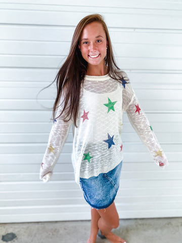 Gorgeous Star Sweater