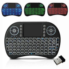 2.4GHz Wireless Mini Handheld Remote Keyboard with Touchpad
