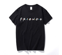 Friends TV Show T-Shirts Mens Summer Casual Short Sleeve Tops Graphic Tees