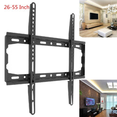 Universal convenient 45KG TV Wall Mount Bracket Fixed Flat Panel TV Frame for 26-55 Inch LCD LED Monitor Flat Panel