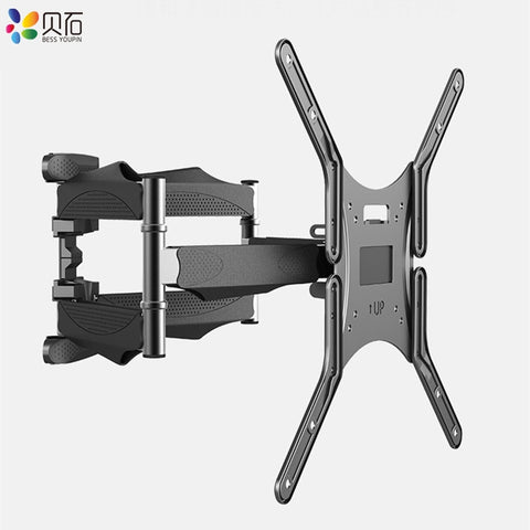 "Articulating 6 Arms TV Wall Mount Full Motion Tilt Bracket TV Rack Wall Mount  for 32""-60"" TVs up to VESA 400x400mm and 88lbs"