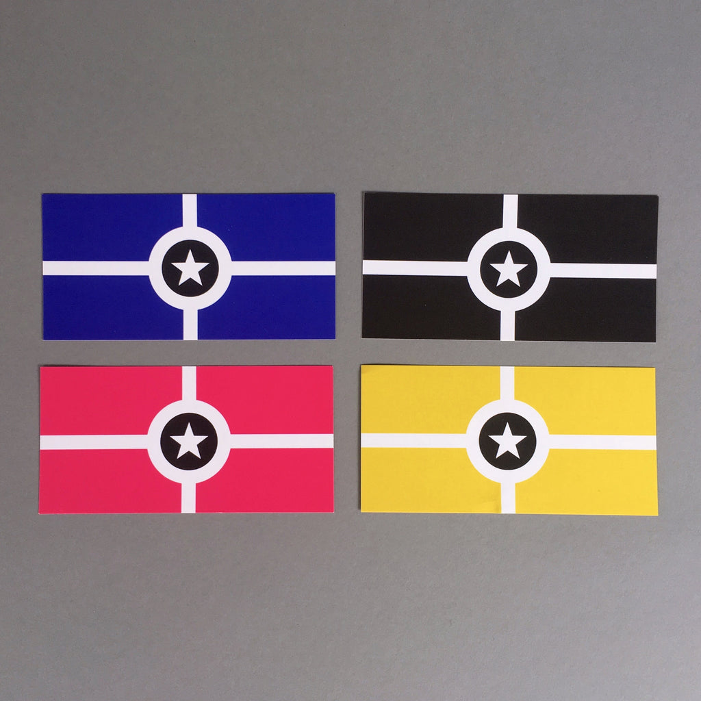 CITY FLAG STICKERS