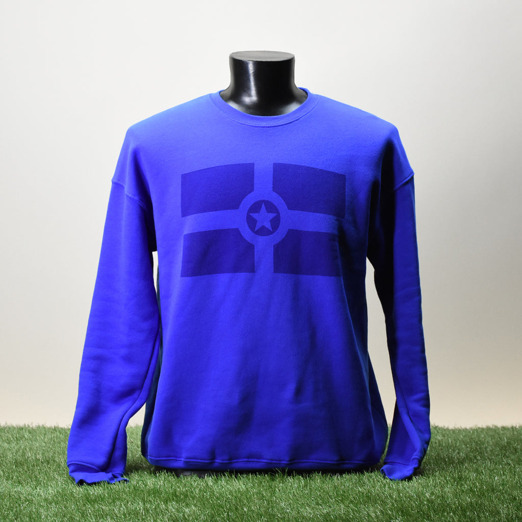 SWEATSHIRT - CITY FLAG - ROYAL
