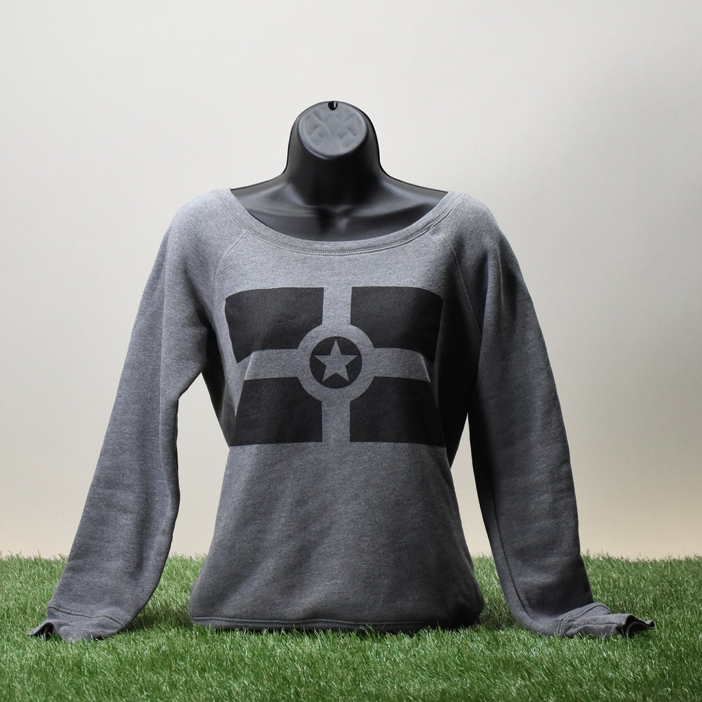 SWEATSHIRT - CITY FLAG - WOMEN'S GRAY
