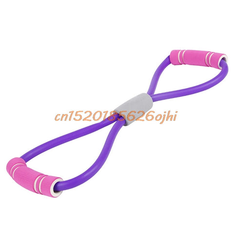 Yoga 8 Shape Pull Rope Tube Equipment Tool - Jungleecart.com