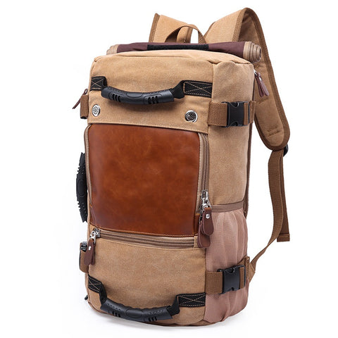 Vintage Canvas Big Size Men Travel Bags