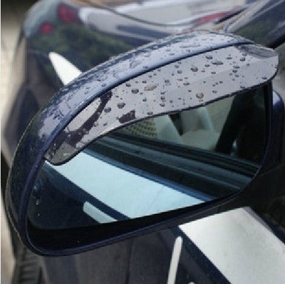 Rearview Mirror Rain Shade Rainproof Blades Car Back Mirror Eyebrow Rain Cover 2Pcs - Jungleecart.com