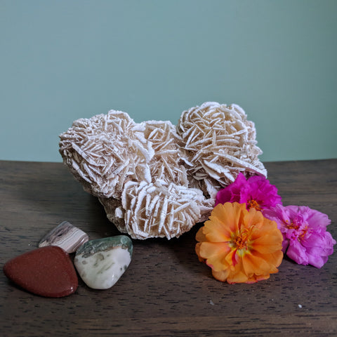 Desert Rose Cluster - Crystals - The Salty Blossom