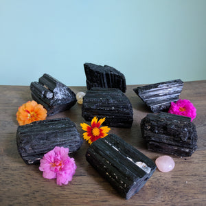 Black Tourmaline Raw Stone
