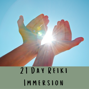 21 Day Reiki Immersion