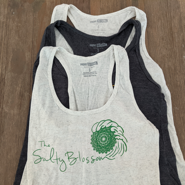 The Salty Blossom Tank - Size S