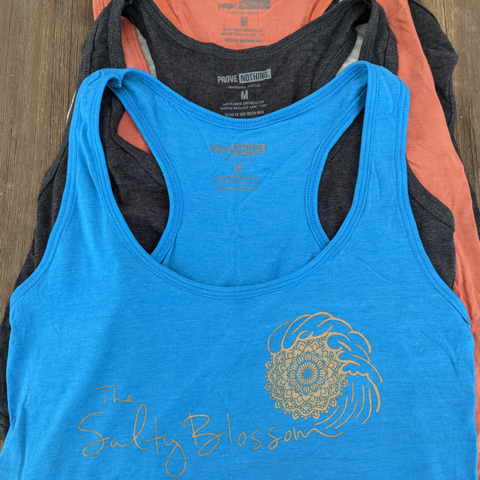 The Salty Blossom Tank - Size M