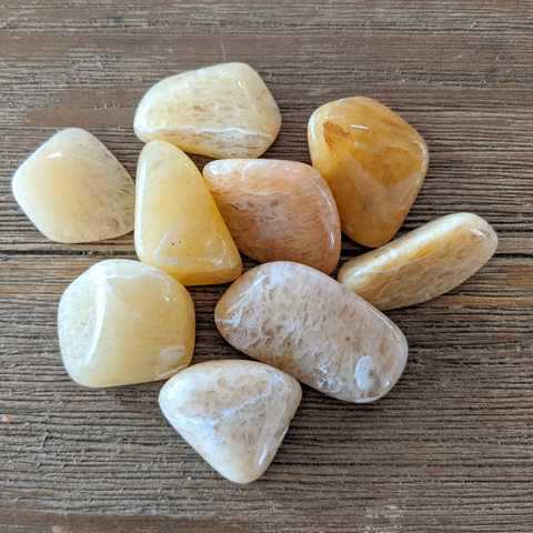 Tumbled Yellow Aventurine