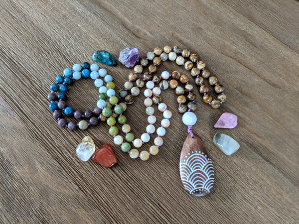 Chakra Mala - Necklace - The Salty Blossom