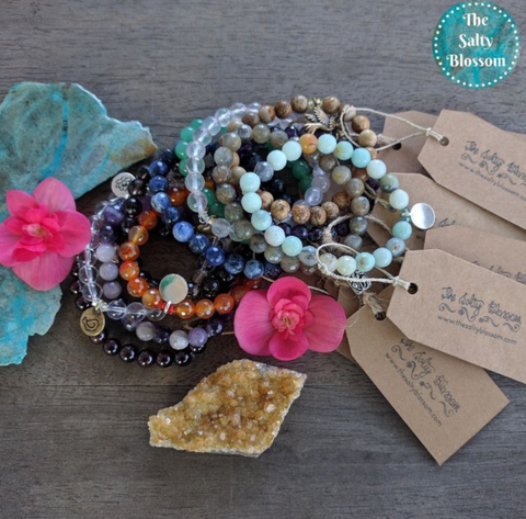Gemstone Bracelet - jewelry - The Salty Blossom