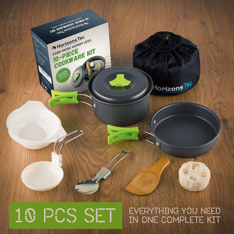 Horizons Tec Camping Cookware Equipment
