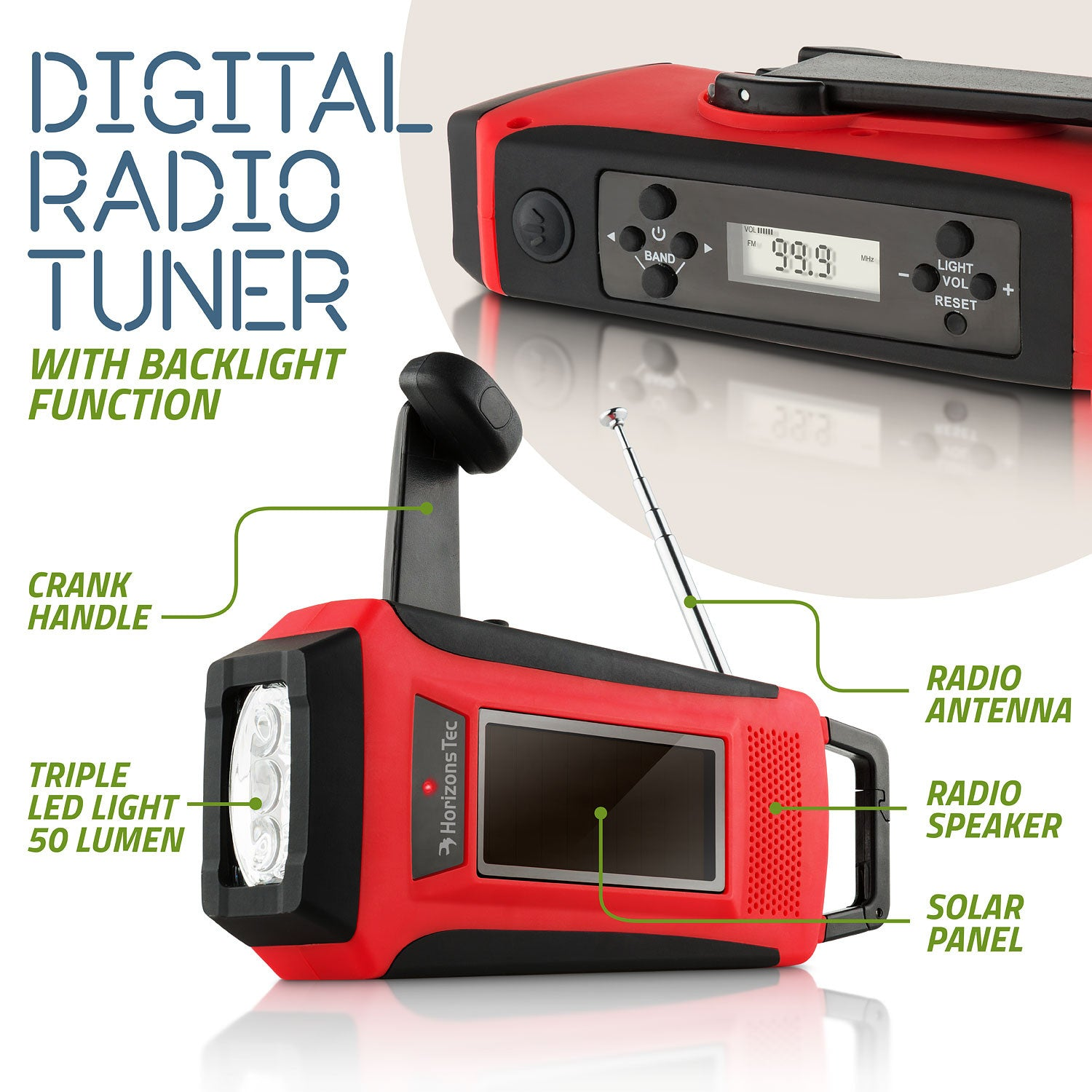 Hand crank radio cell phone charger reviews