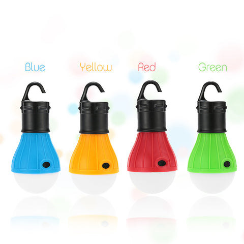 Waterproof Portable Outdoor Hanging Tent Camping LED Light Lamp Lanterns