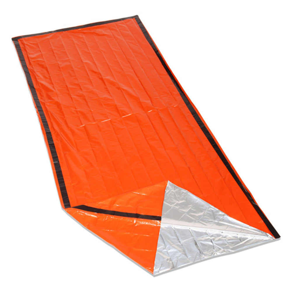 2 Pack Heavy Duty Emergency Solar Thermal Sleeping Bag