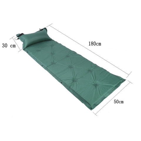 Camping Hiking Automatic Inflatable Self-Inflating Foldable Sleeping Mattress