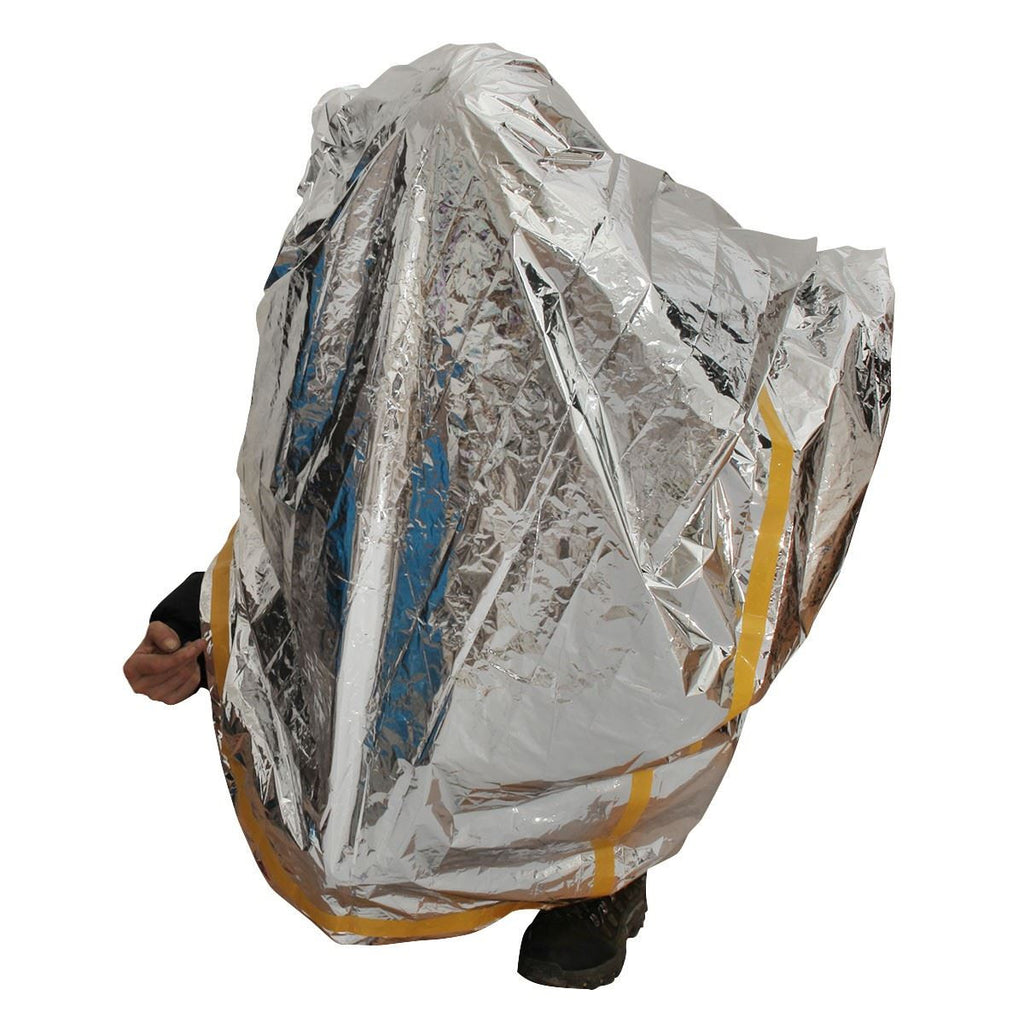 2PCS Emergency Survival Shelter Tent | 2 Person Mylar Thermal Shelter