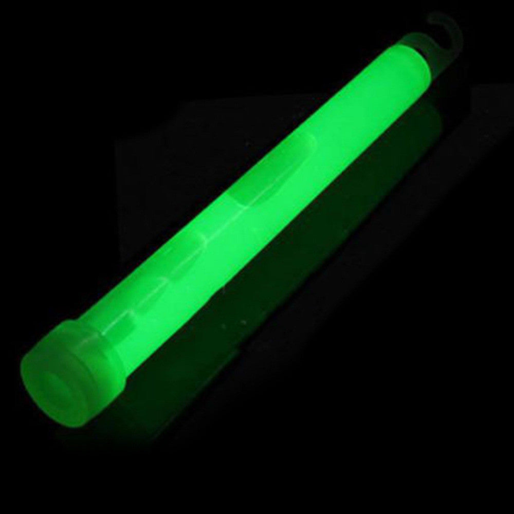 5pcs 0.6 inch Green Glow Sticks
