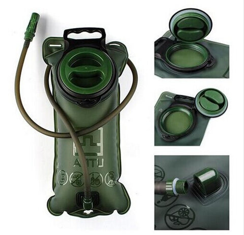 2L Water Bladder Bag Hydration System