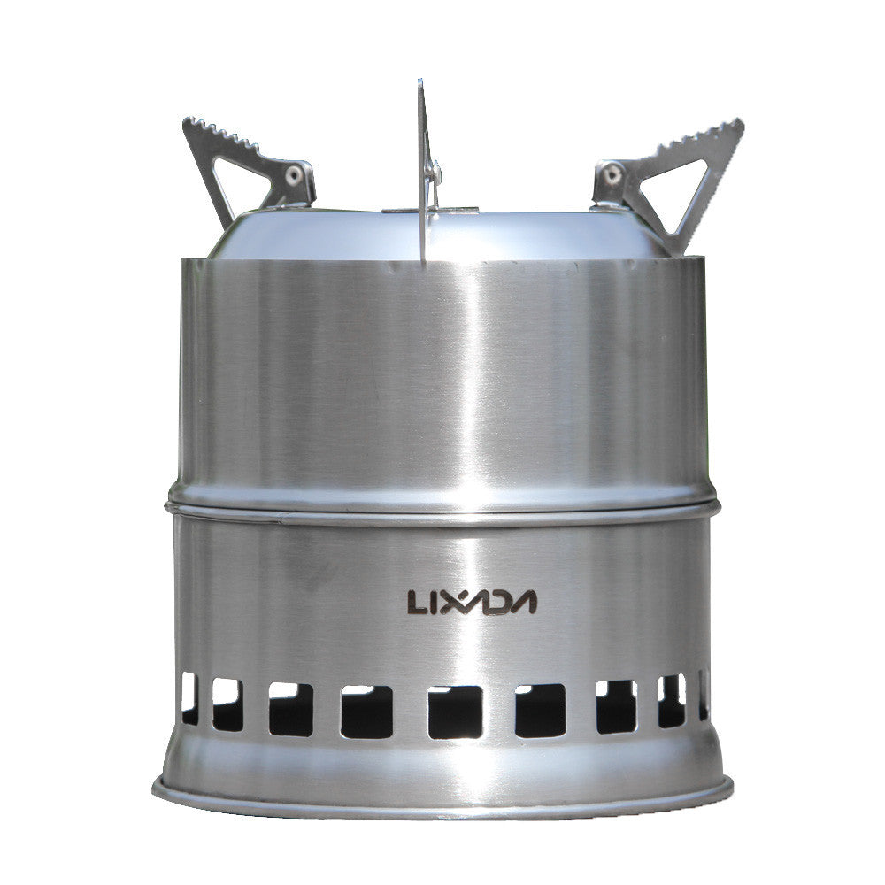 Outdoor Portable Stainless Steel Wood Stove - Outdoor Portable Stainless Steel Wood Stove – Horizons Tec