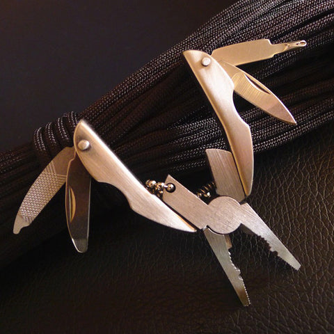 Portable Multifunction Stainless Steel Folding Plier