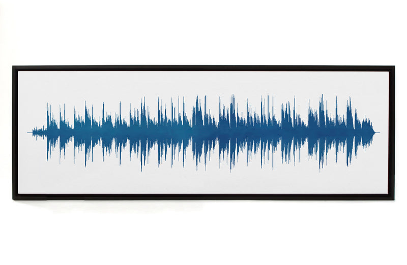 Custom - Canvas Sound Wave Song