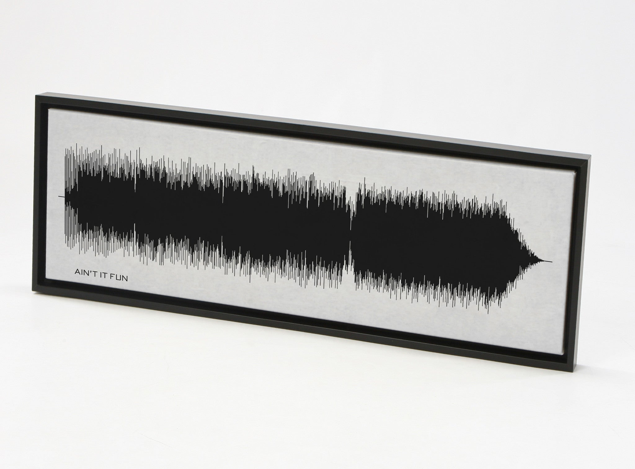 Ain't It Fun - Paramore Sound Wave Art