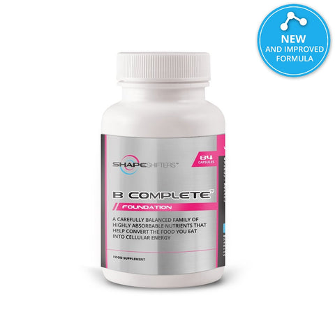 B Complex Vitamins Capsules suitable for Vegans