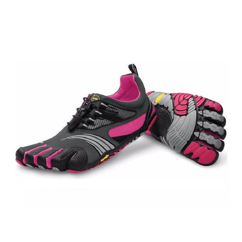 Vibram FiveFingers KMD Sport LS Grey, Pink and Black Womens