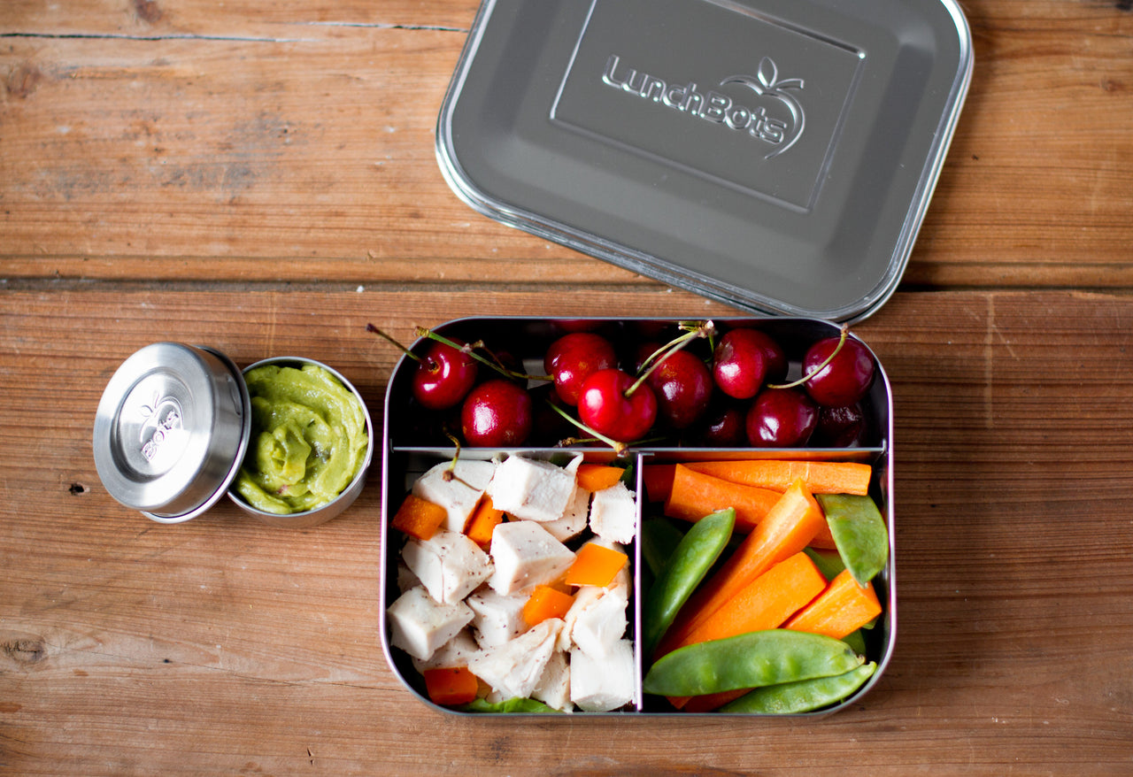 Why is a stainless steel lunchbox better than plastic?
