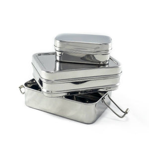 2-Tier Lunch Stacker with mini pod-Home & Garden > Kitchen & Dining > Food & Beverage Carriers > Lunch Boxes & Totes-Eqo Online