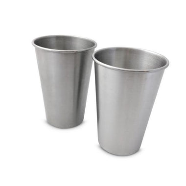 500ml Stainless Steel Cup - 2 pack-Home & Garden > Kitchen & Dining > Tableware > Drinkware > Coffee & Tea Cups-Eqo Online
