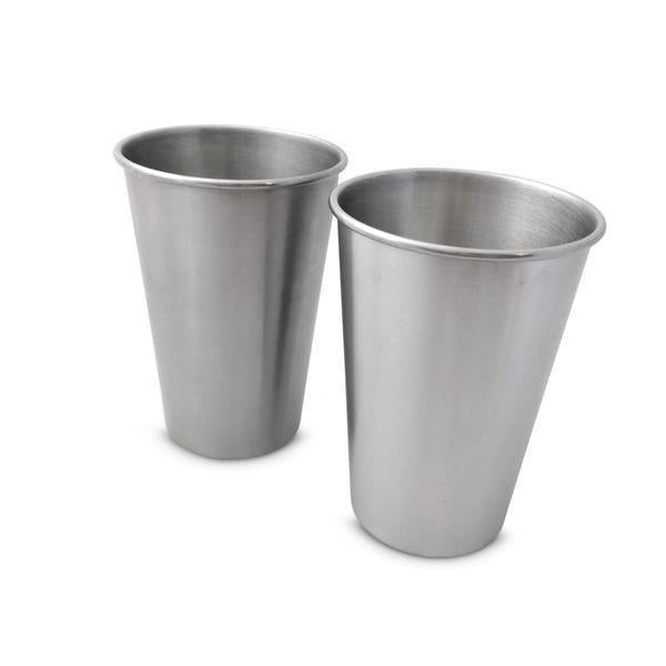 500ml Stainless Steel Cup - 2 pack