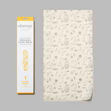 Load image into Gallery viewer, Abeego - Beeswax Compostable Food Wrap - Giant - 1 Flat-Home & Garden > Kitchen & Dining > Food Storage > Food Wraps > Wax Paper-Eqo Online