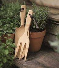Load image into Gallery viewer, Bamboo Garden Hand Fork-Home & Garden > Lawn & Garden > Gardening > Gardening Tools > Shovels & Spades-Eqo Online