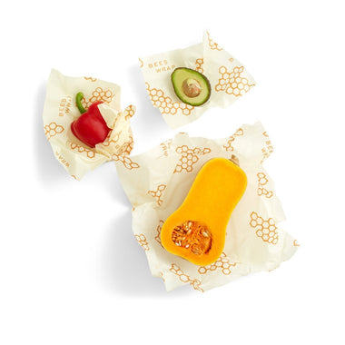 Bee's Wrap Assorted Sizes - 3 Pack-Home & Garden > Kitchen & Dining > Food Storage > Food Wraps > Wax Paper-Eqo Online