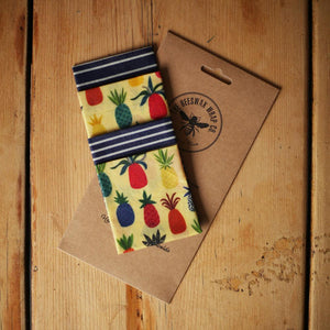 Beeswax Wraps Lunch Pack-Home & Garden > Kitchen & Dining > Food Storage > Food Wraps > Wax Paper-Eqo Online
