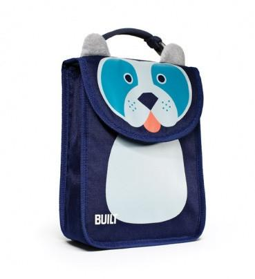 BUILT Big Apple Buddies Lunch Bag - Delancy Doggie-Home & Garden > Kitchen & Dining > Food & Beverage Carriers > Lunch Boxes & Totes-Eqo Online