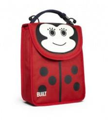 BUILT Big Apple Buddies Lunch Bag - Lafayette Ladybug-Home & Garden > Kitchen & Dining > Food & Beverage Carriers > Lunch Boxes & Totes-Eqo Online
