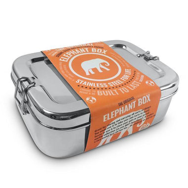 Elephant Box - Large Stainless Steel Lunch box-Home & Garden > Kitchen & Dining > Food & Beverage Carriers > Lunch Boxes & Totes-Eqo Online