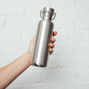 Elephant Box Stainless Steel Water Bottle - 800ml-Home & Garden > Kitchen & Dining > Food & Beverage Carriers > Water Bottles-Eqo Online