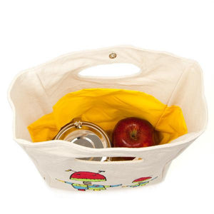 FLUF Organic Cotton Lunch Bag-Home & Garden > Kitchen & Dining > Food & Beverage Carriers > Lunch Boxes & Totes-Eqo Online